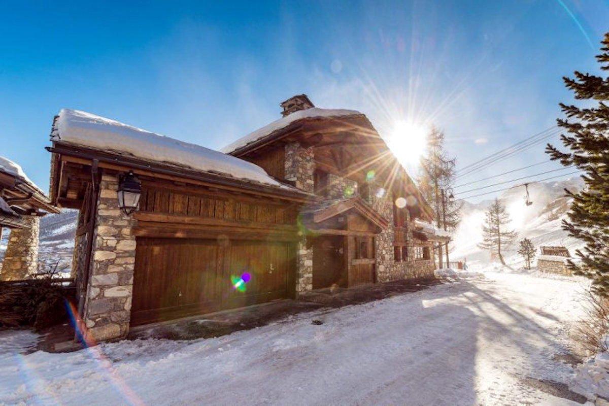 Chalet in Val d'Isère in affitto direttamente sulle Piste da Sci