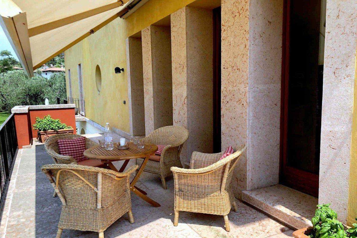 Villa Liberty Malcesine Lago di Garda in vendita