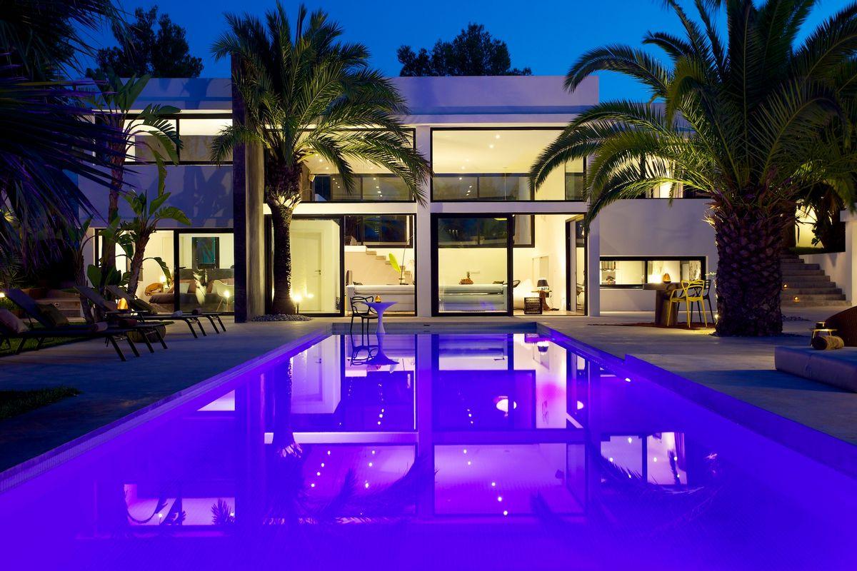 Ibiza Affitto Villa Con Piscina E Giardino Esotico Ville Da Sogno