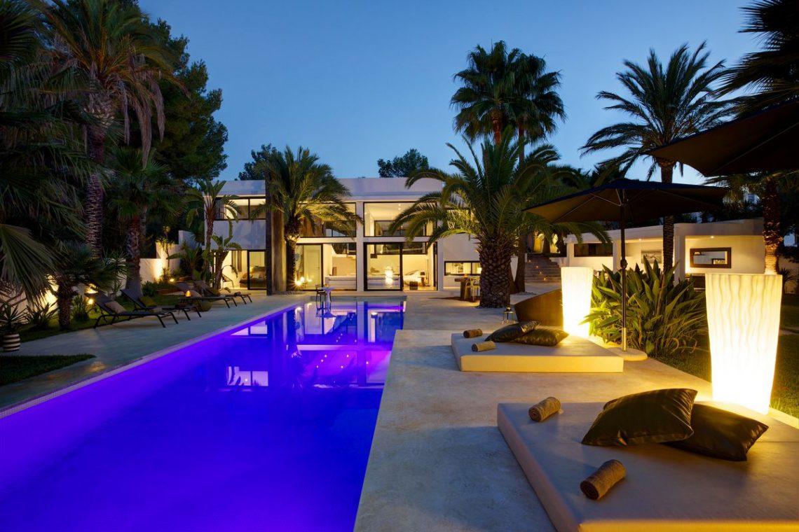 Ibiza Affitto Villa Con Piscina E Giardino Esotico 03 Ville Da Sogno