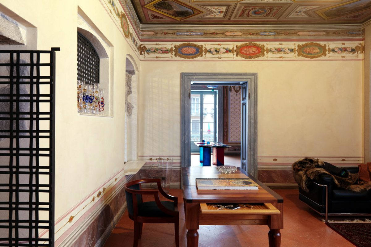 Appartamento storico Lago di Garda del 1300 fronte lago