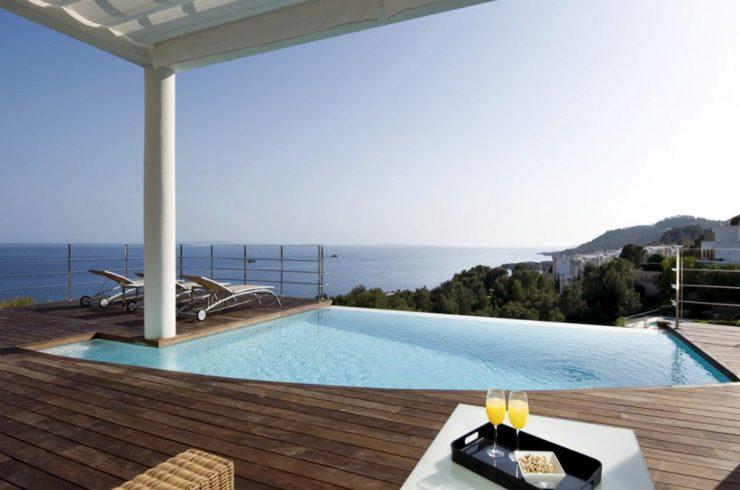 Villa Ibiza in affitto vista mare, Formentera e tramonto