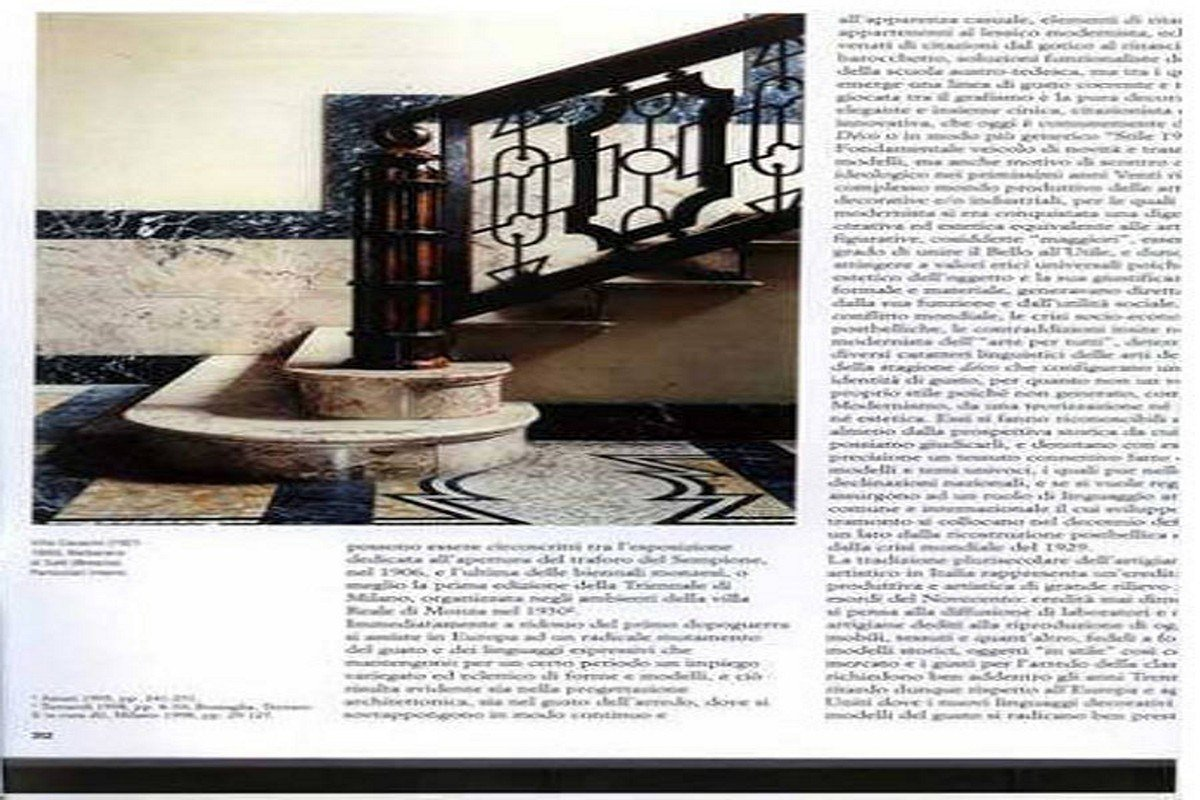 Waterfront historic villa Lake Garda in Deco style