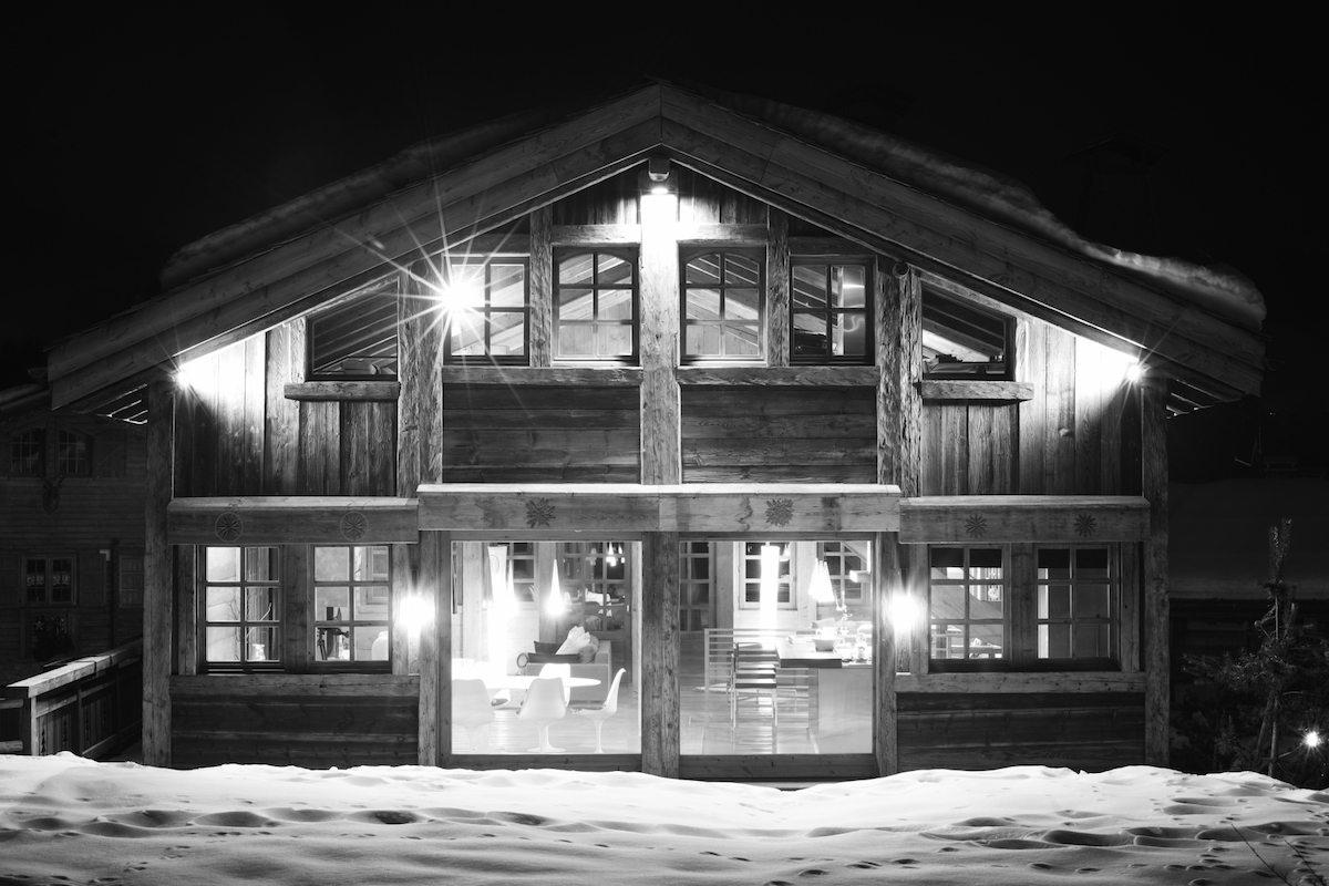 Chalet a Megeve vicino alle piste da sci nel cuore delle Alpi