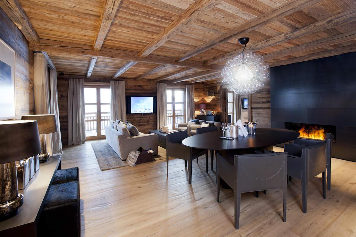 Chalet a Oberlech di lusso in affitto sulle piste da sci
