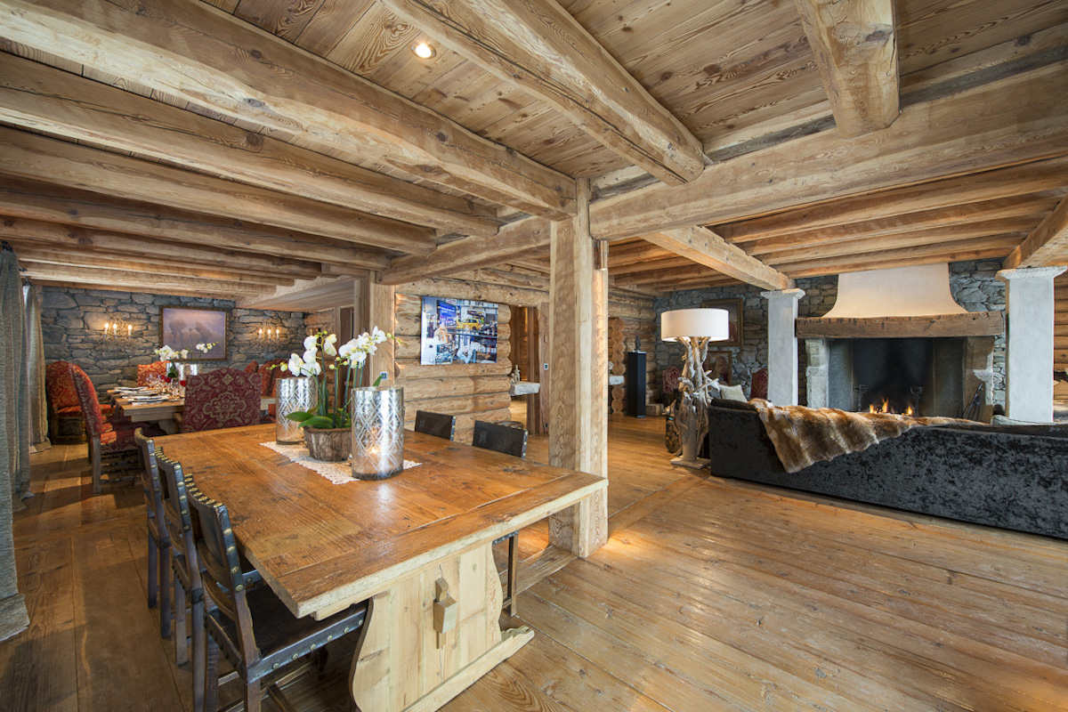 Chalet Verbier for rent with top 5 Stars ServiceChalet Verbier di Lusso in Affitto con Servizi 5 Stelle