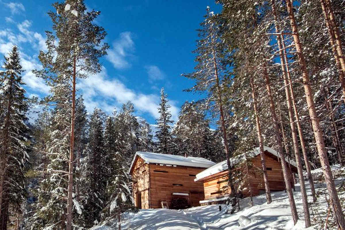 Chalet Val Badia in parco naturale affitto