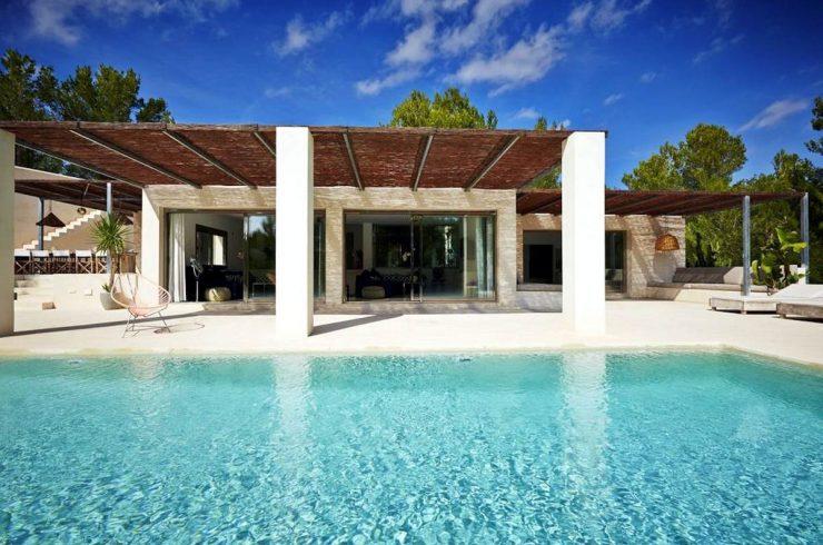 Villa Ibiza Cala Jondal in Affitto con Piscina Infinity