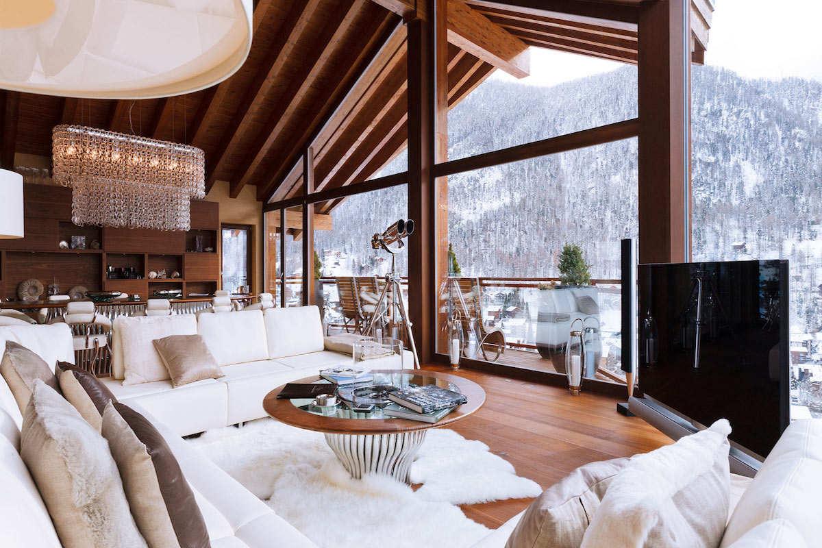 Chalet a Zermatt in Affitto con Servizio 5 Stelle