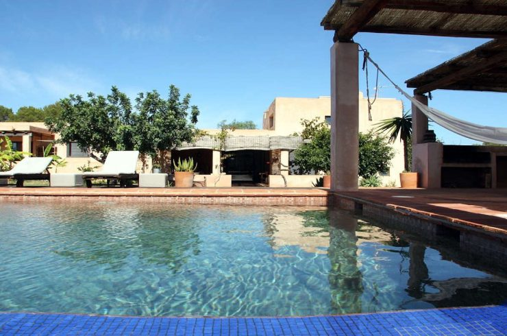 Villa di lusso Formentera affitto con piscina e idromassaggio