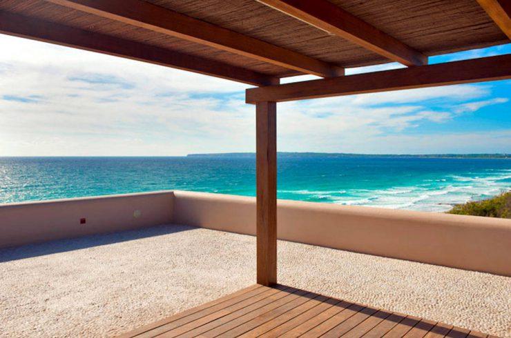 Villa Formentera affitto fronte mare con 2 piscine