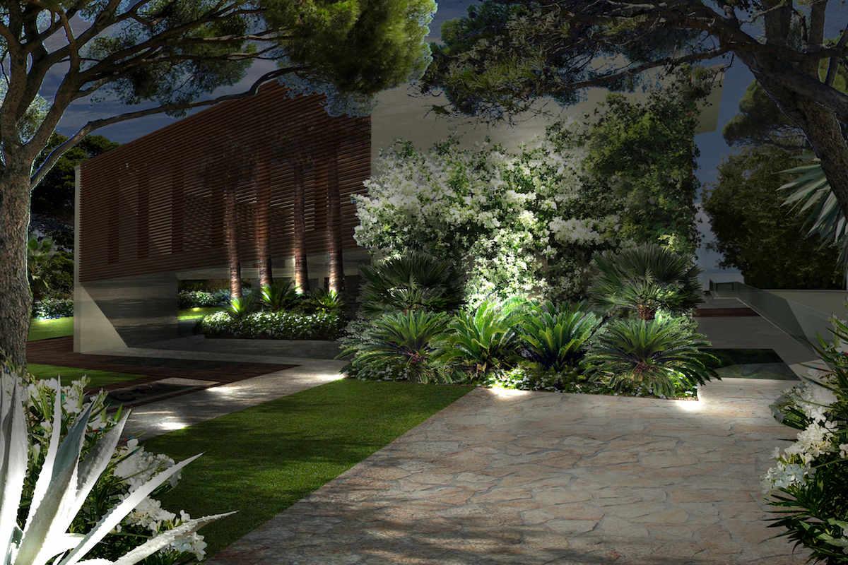 Villa fronte lago Garda a Sirmione con progetto approvato
