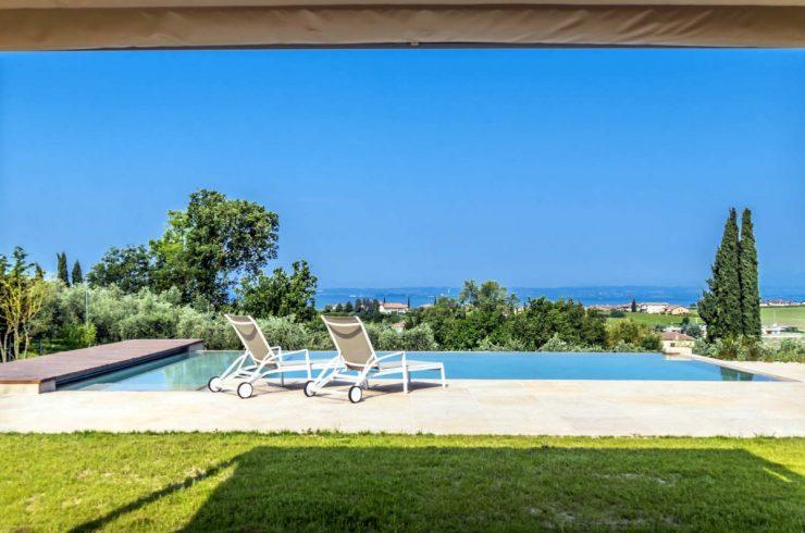 Villa Lago di Garda in affitto con splendida vista lago