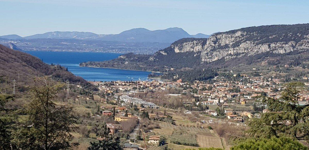 Area edificabile Lago di Garda con vista lago