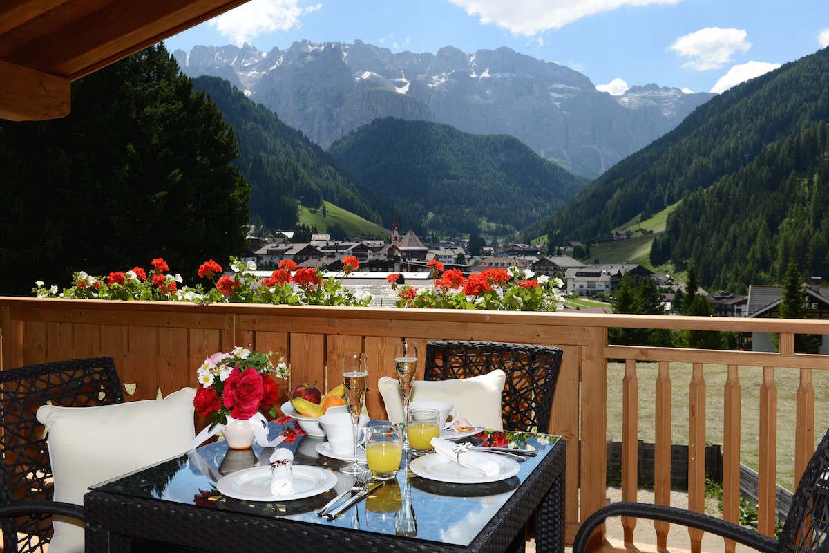 Chalet Val Gardena in affitto sulle Dolomiti