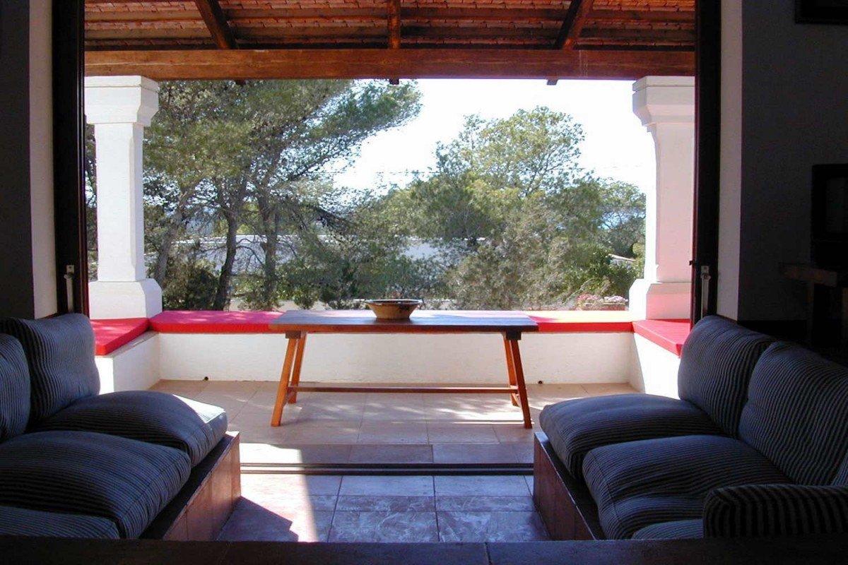 Villa a Formentera fronte mare in affitto