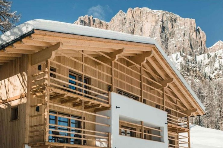 Chalet lusso Dolomiti in affitto con SPA & Wellness