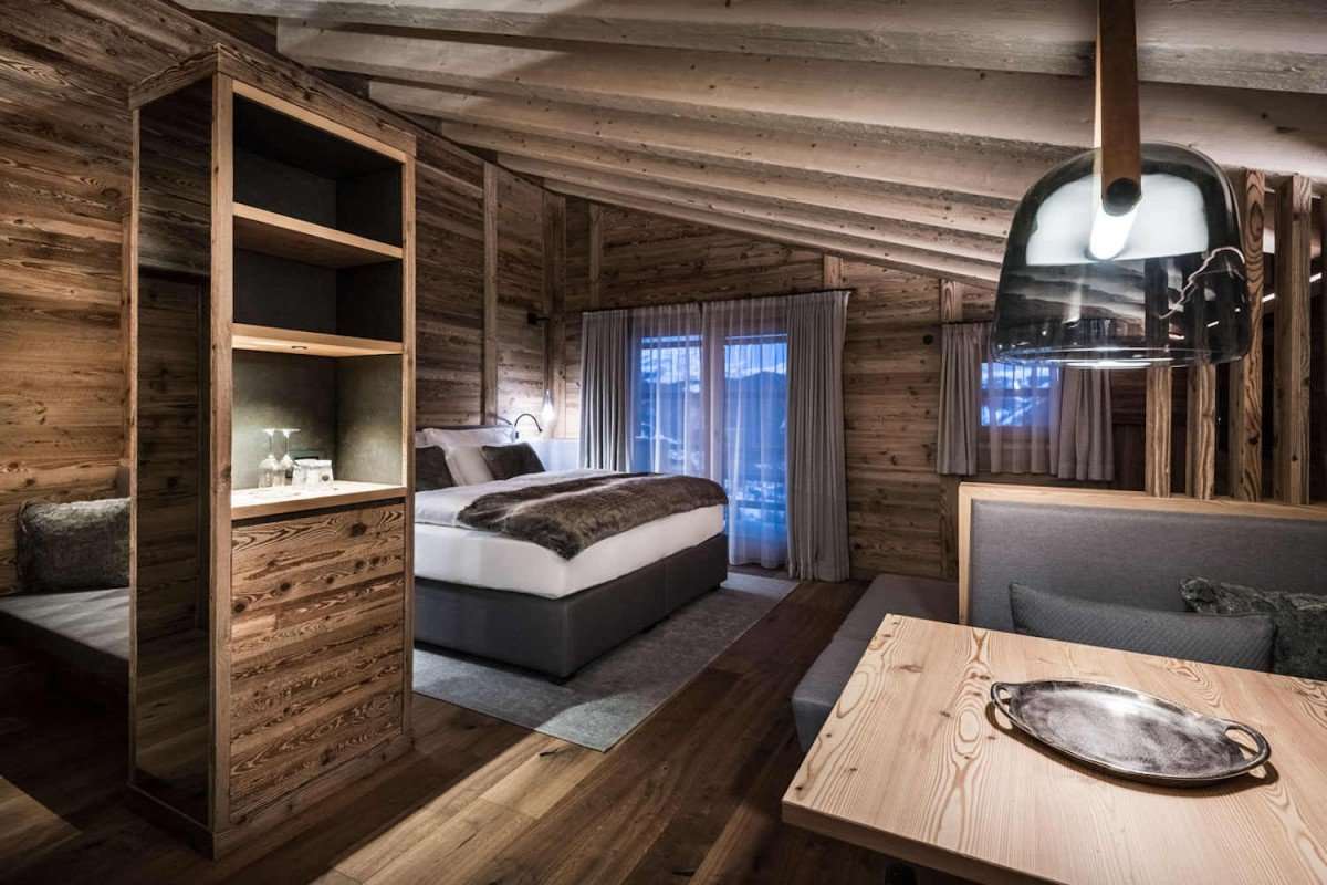 Chalet lusso Dolomiti in affitto conSPA & Wellness