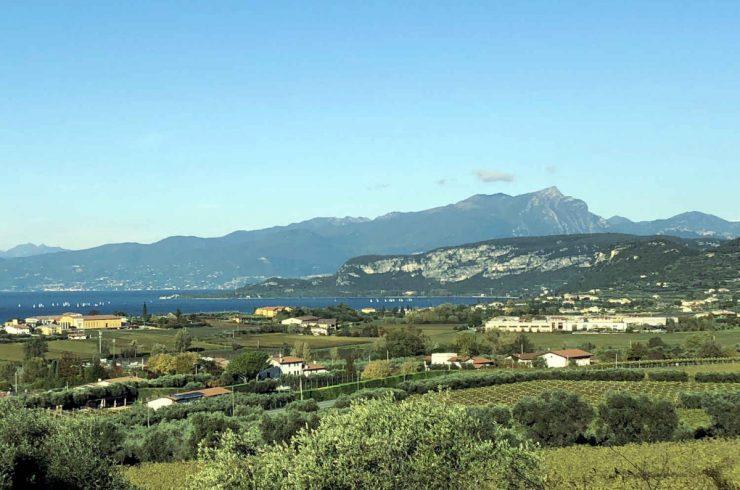 Terreno edificabile al Lago di Garda con vista mozzafiato