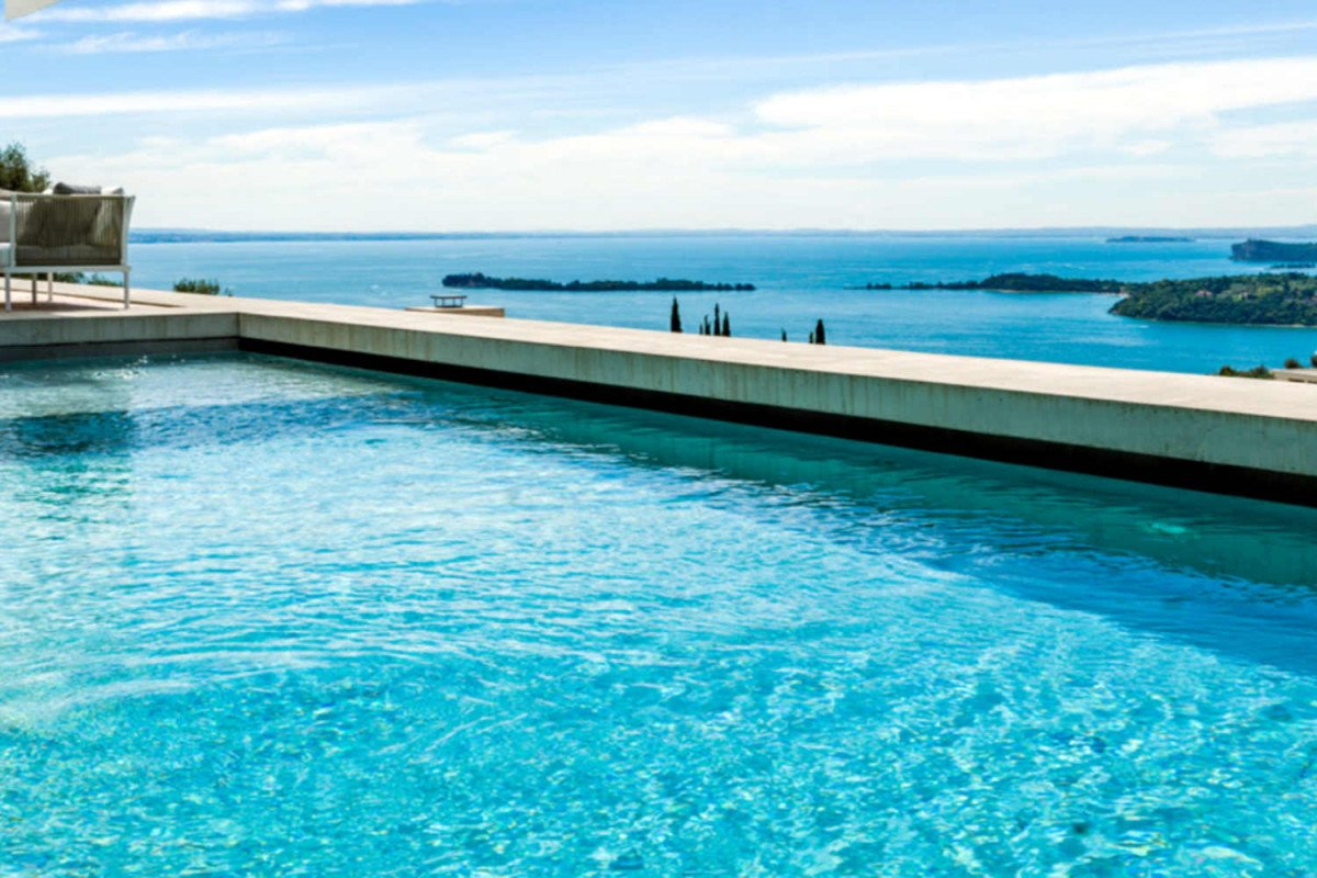Villa extralusso Lago di Garda con dependance ospiti